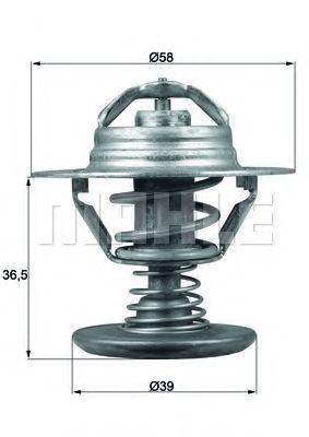 Термостат, охлаждающая жидкость BEHR THERMOT-TRONIK TX9482D