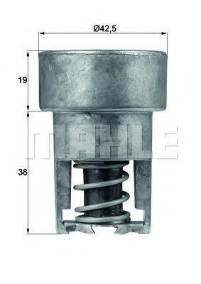 Термостат, охлаждающая жидкость BEHR THERMOT-TRONIK TX9889