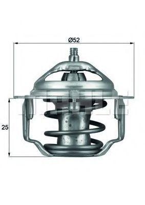 Термостат, охлаждающая жидкость BEHR THERMOT-TRONIK TX8582