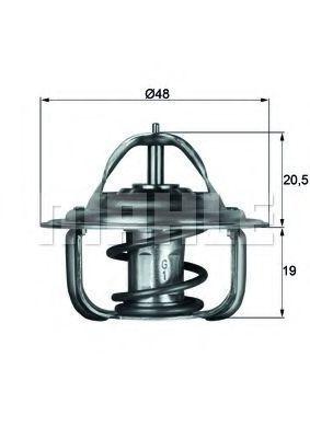 Термостат, охлаждающая жидкость BEHR THERMOT-TRONIK TX192D
