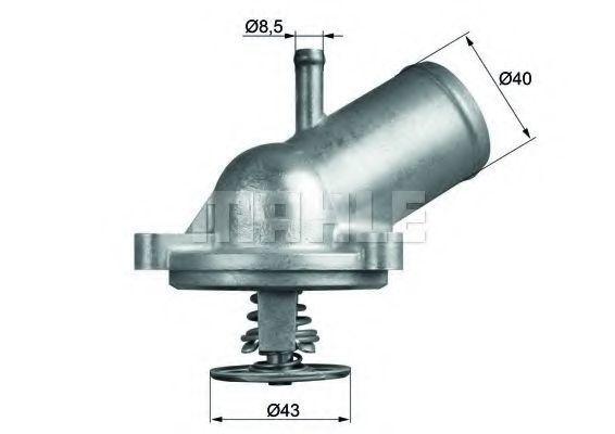 Термостат, охлаждающая жидкость BEHR THERMOT-TRONIK TI20987D