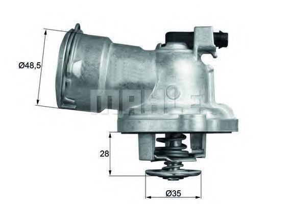 Термостат, охлаждающая жидкость BEHR THERMOT-TRONIK TM2887