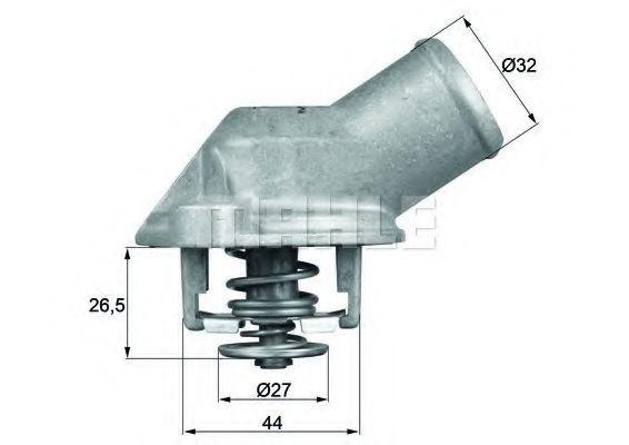 Термостат, охлаждающая жидкость BEHR THERMOT-TRONIK TI5983