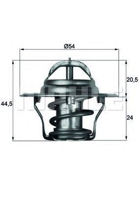 Термостат, охлаждающая жидкость BEHR THERMOT-TRONIK TX483D