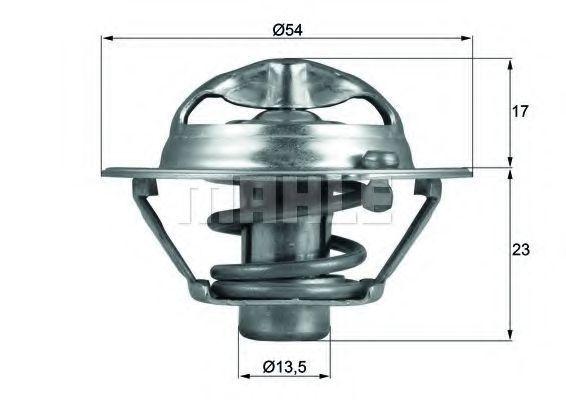Термостат, охлаждающая жидкость BEHR THERMOT-TRONIK TX11882D