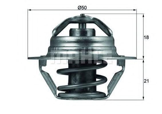 Термостат, охлаждающая жидкость BEHR THERMOT-TRONIK TX10089D