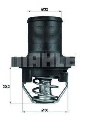 Термостат, охлаждающая жидкость BEHR THERMOT-TRONIK TI4789