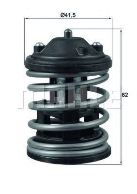 Термостат, охлаждающая жидкость BEHR THERMOT-TRONIK TX16387D1