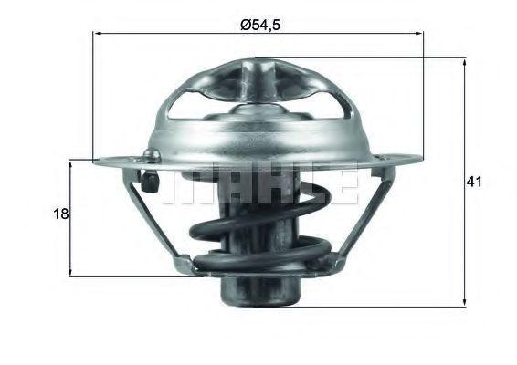 Термостат, охлаждающая жидкость BEHR THERMOT-TRONIK TX16282D