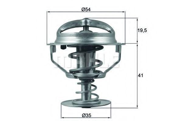 Термостат, охлаждающая жидкость BEHR THERMOT-TRONIK TX16482D