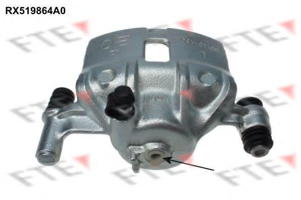 Тормозной суппорт FTE RX519864A0
