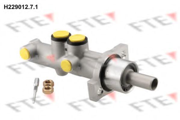 Главный тормозной цилиндр FTE H22901271