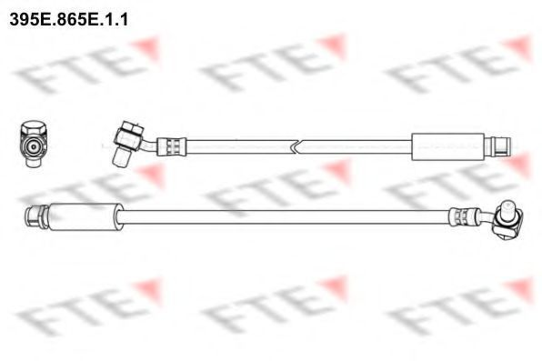 Тормозной шланг FTE 395E865E11