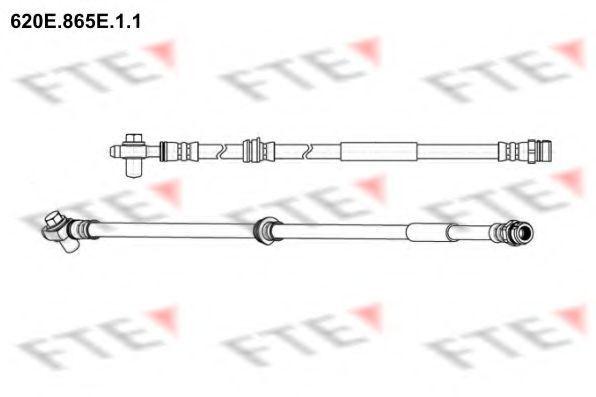 Тормозной шланг FTE 620E865E11