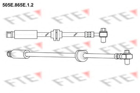 Тормозной шланг FTE 505E865E12