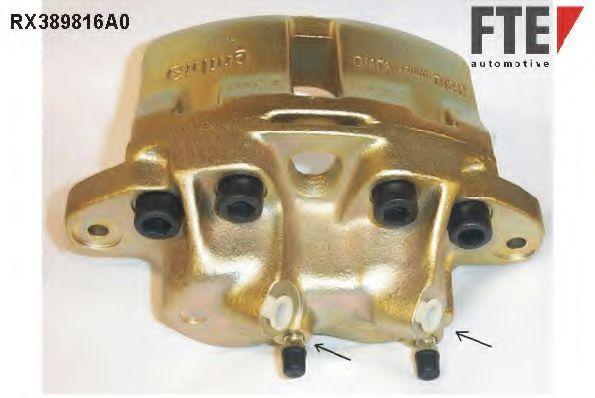 Тормозной суппорт FTE RX389816A0