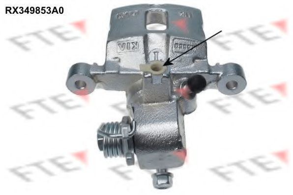 Тормозной суппорт FTE RX349853A0