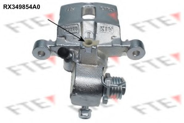 Суппорт тормозной FTE RX349854A0