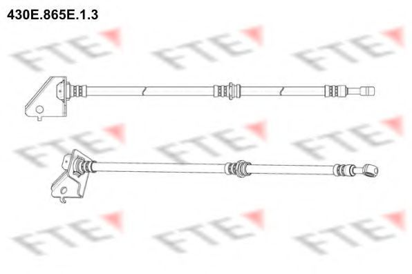 Тормозной шланг FTE 430E865E13