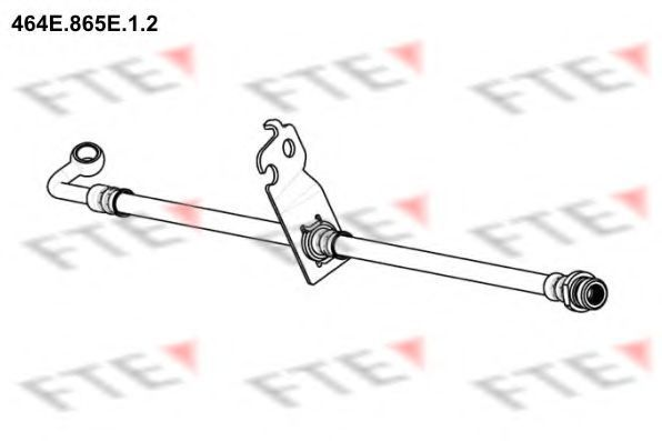 Тормозной шланг FTE 464E865E12