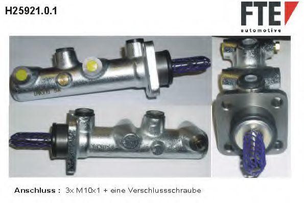 Главный тормозной цилиндр FTE H2592101
