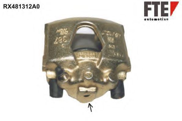 Тормозной суппорт FTE RX481312A0