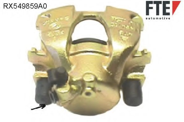 Тормозной суппорт FTE RX549859A0