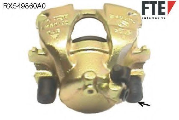 Тормозной суппорт FTE RX549860A0