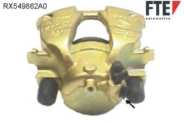 Тормозной суппорт FTE RX549862A0