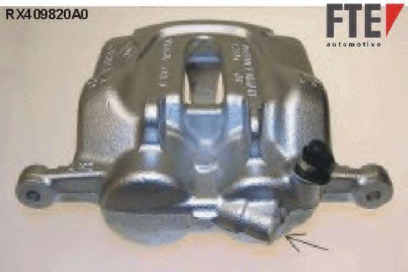 Тормозной суппорт FTE RX409820A0