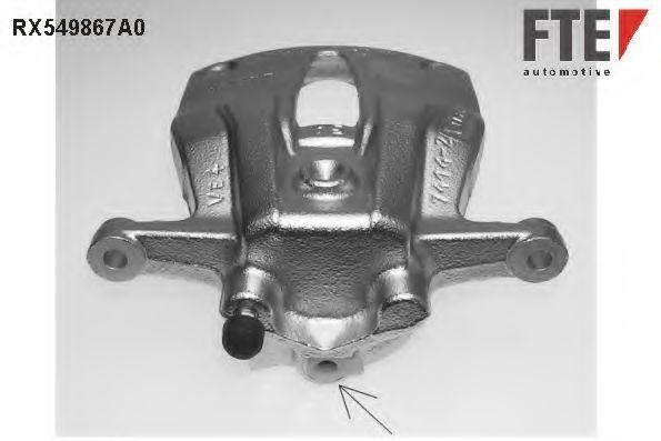 Тормозной суппорт FTE RX549867A0