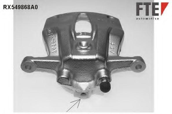 Тормозной суппорт FTE RX549868A0