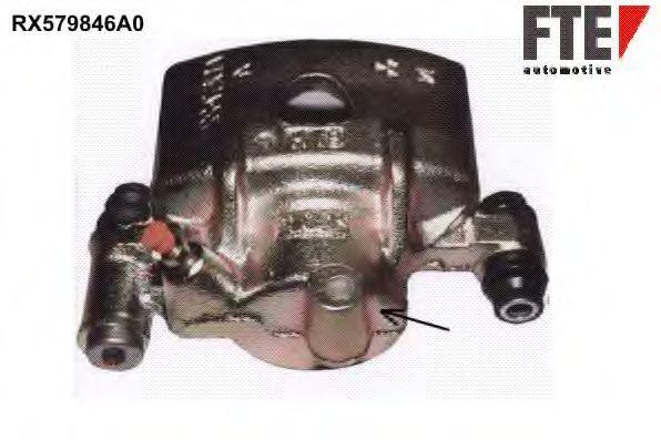 Тормозной суппорт FTE RX579846A0