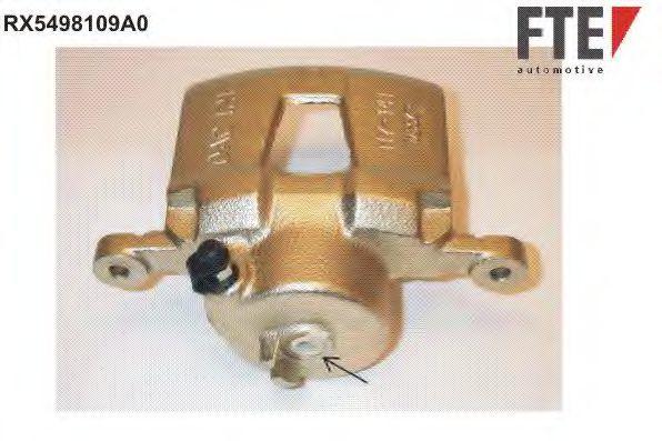 Суппорт тормозной FTE RX5498109A0