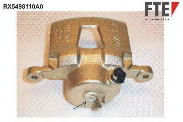 Тормозной суппорт FTE RX5498110A0
