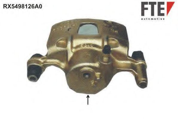 Тормозной суппорт FTE RX5498126A0