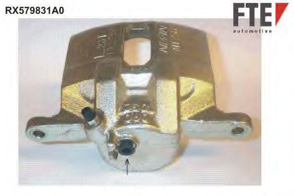 Тормозной суппорт FTE RX579831A0