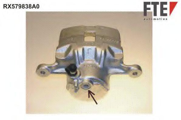 Тормозной суппорт FTE RX579838A0