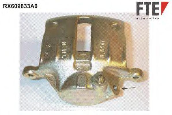 Тормозной суппорт FTE RX609833A0