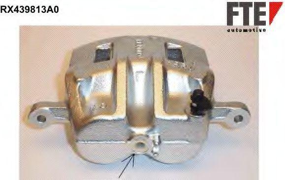 Тормозной суппорт FTE RX439813A0