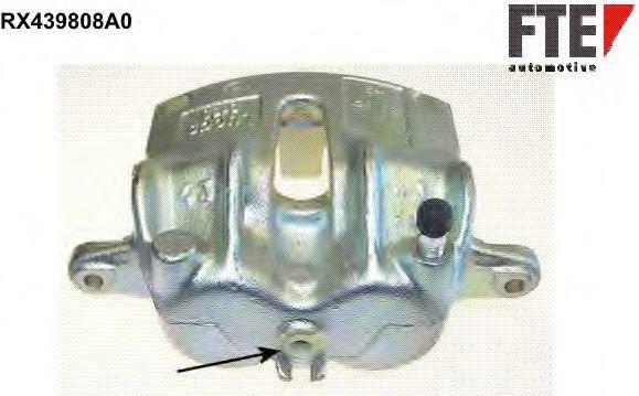 Тормозной суппорт FTE RX439808A0