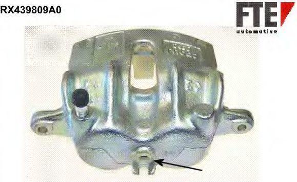 Тормозной суппорт FTE RX439809A0