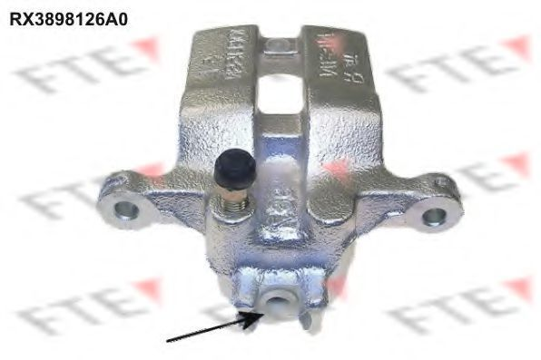 Тормозной суппорт FTE RX3898126A0