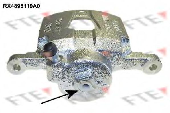 Тормозной суппорт FTE RX4898119A0