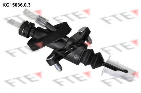 Главный цилиндр, система сцепления FTE KG1503603