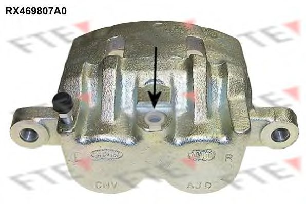 Тормозной суппорт FTE RX469807A0