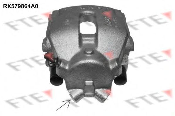 Тормозной суппорт FTE RX579864A0