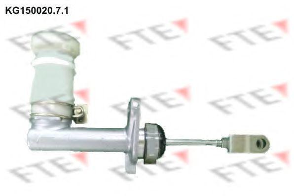 Главный цилиндр, система сцепления FTE KG15002071