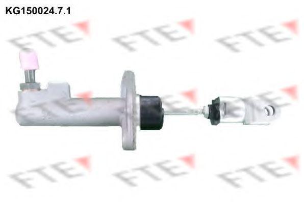 Главный цилиндр, система сцепления FTE KG15002471