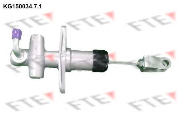 Главный цилиндр, система сцепления FTE KG15003471